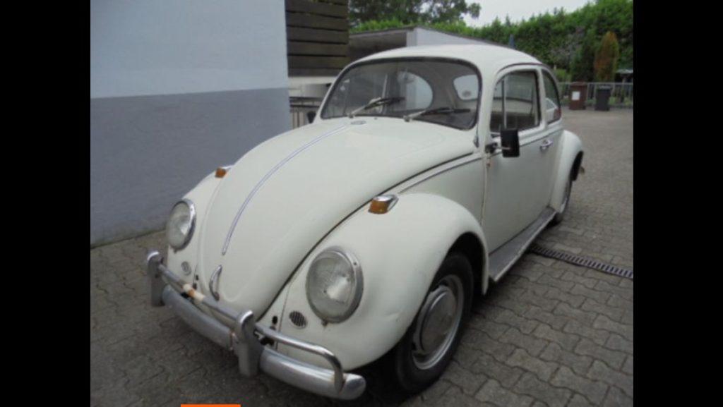 VW Käfer aus den 60er Jahren